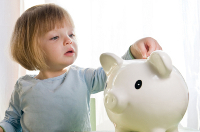 Novel ways to teach kids about saving money