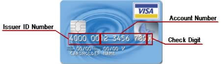 how many number in a credit card